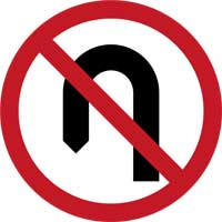 9. No U-Turn