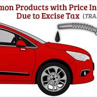 3 Common Products with Price Increase Due to Excise Taxes