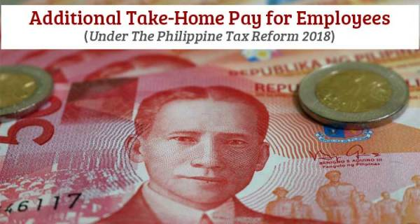 Additional Take-Home Pay for Employees (Philippine Tax ...