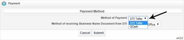 Step 6. Select Method of Payment