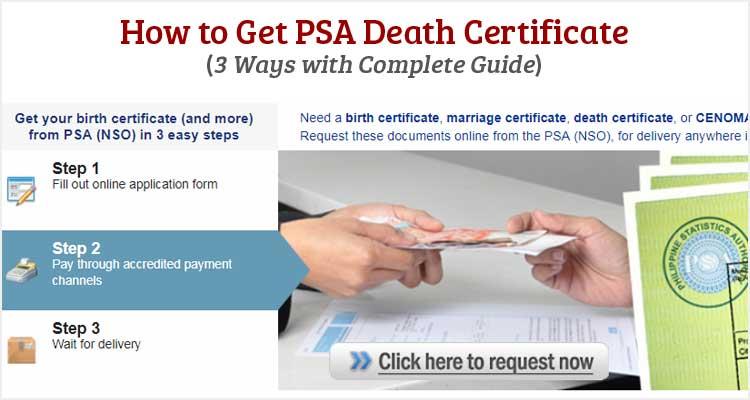 request death certificate