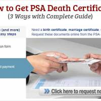 How to Get PSA Death Certificate