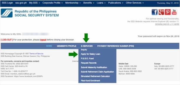 Step 3. Apply for SSS Salary Loan
