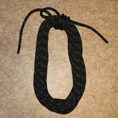 Climber's coil step by step how to tie instructions