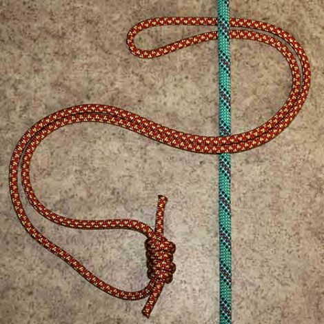 Klemheist step by step how to tie instructions