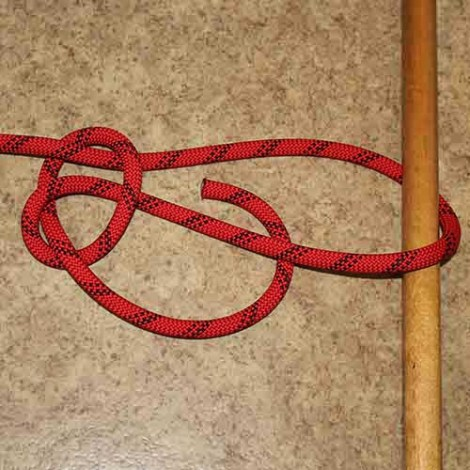 Running bowline step by step how to tie instructions