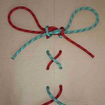 Secure shoelace knot