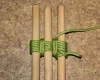 Tripod lashing step by step how to tie instructions