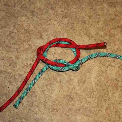 Zeppelin bend step by step how to tie instructions
