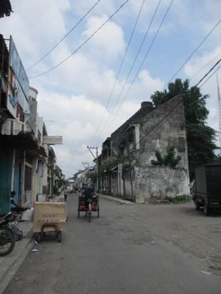 Jalanan di Pecinan Semarang