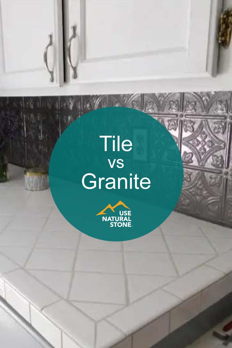 granite vs ceramic tile countertops