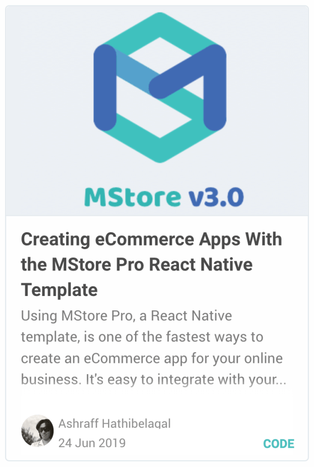 MStore Pro - Complete React Native template for e-commerce - 29