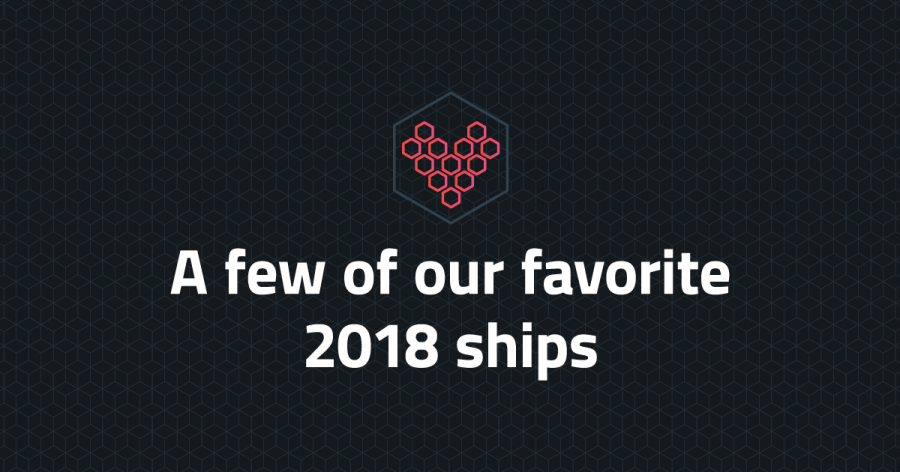A few of our favorite 2018 ships