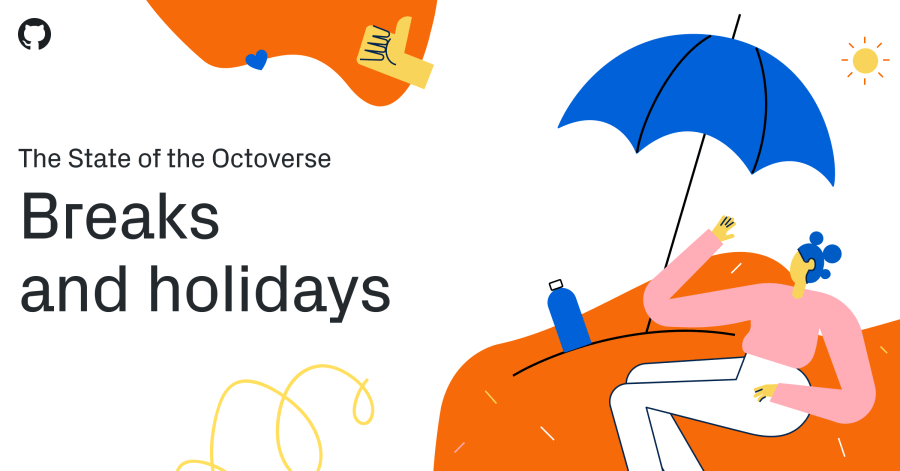 The State of the Octoverse - Breaks and holidays