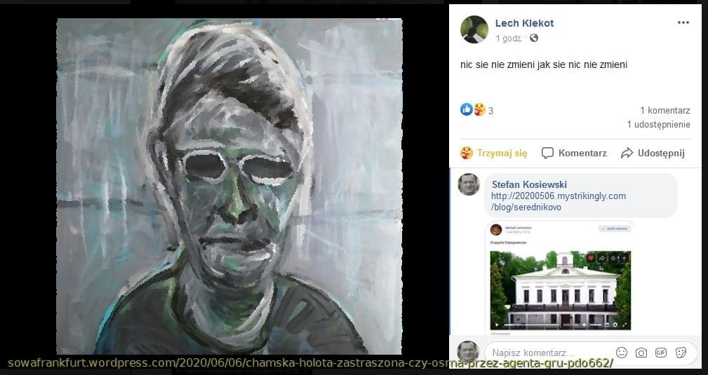 https://www.facebook.com/lech.klekot/posts/10217062184929587?comment_id=10217062803505051
