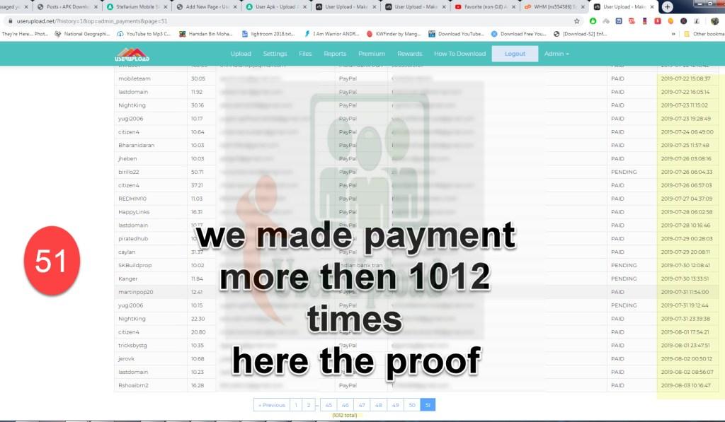 userupload - earn -money -proof