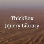 워드프레스 기본 제공 ThickBox Jquery 라이브러리 모달 레이어