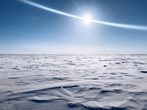 arctic desert - second of the biggest deserts in the world