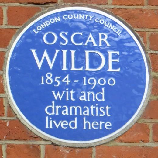 Oscar Wilde Plaque