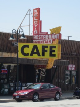 Kelcy's Cafe in Tehachapi, CA