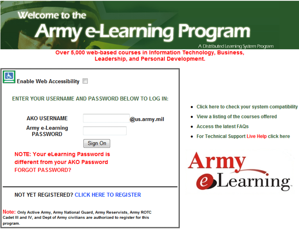 Free Youtube Download Mac Army E Learning Skillport Promotion Points Free E Learning Courses Uk