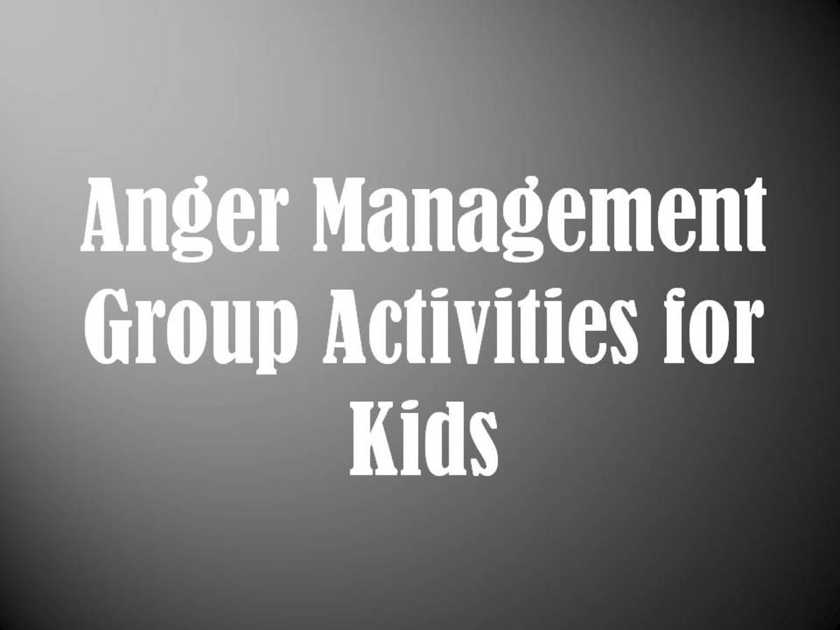 Anger Management Group Activities For Kids Mental Health Groups For Children