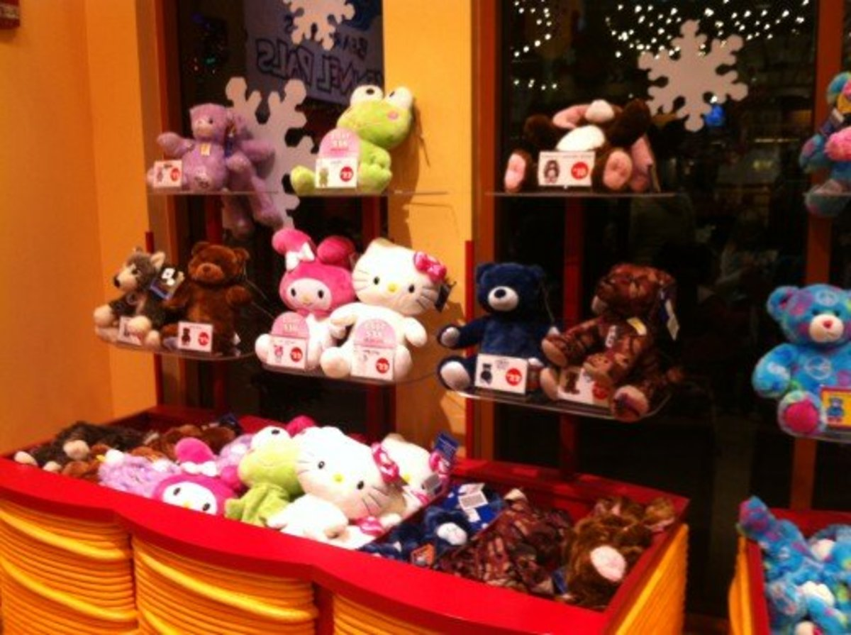 How To Make A Teddy Bear At A Build A Bear Workshop HubPages