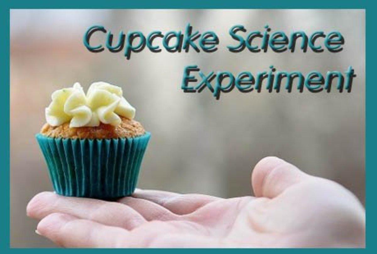 Fun Cupcake Baking Science Fair Project