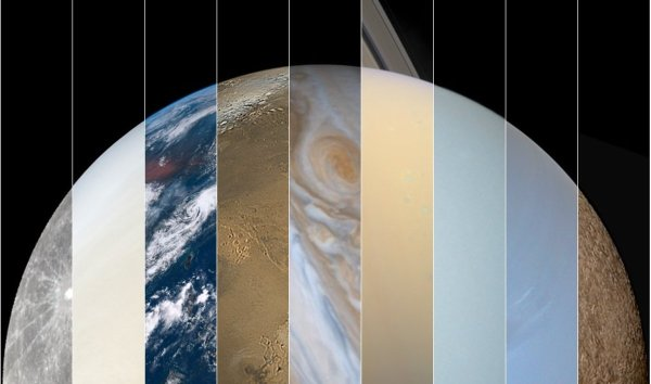 True-Color Photos of All the Planets   Owlcation