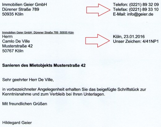How To Write Complaint Letter In German - Cover Letter Templates