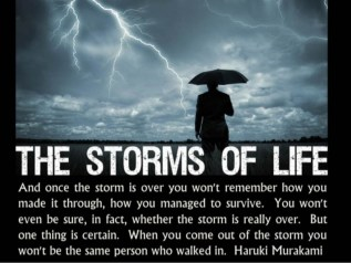 Life Isn't About Waiting for the Storm to Pass… It's About ...