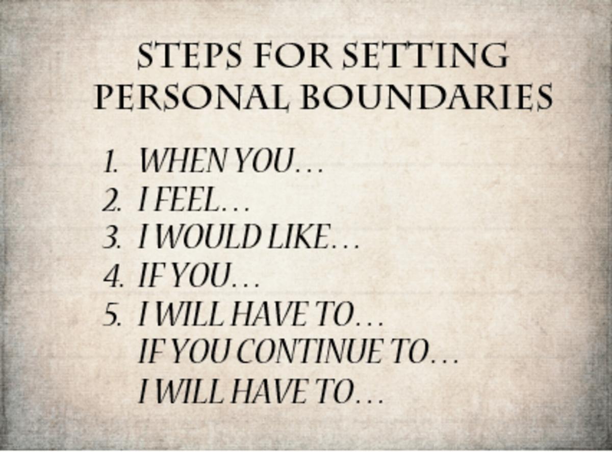 Setting Effective Personal Boundaries