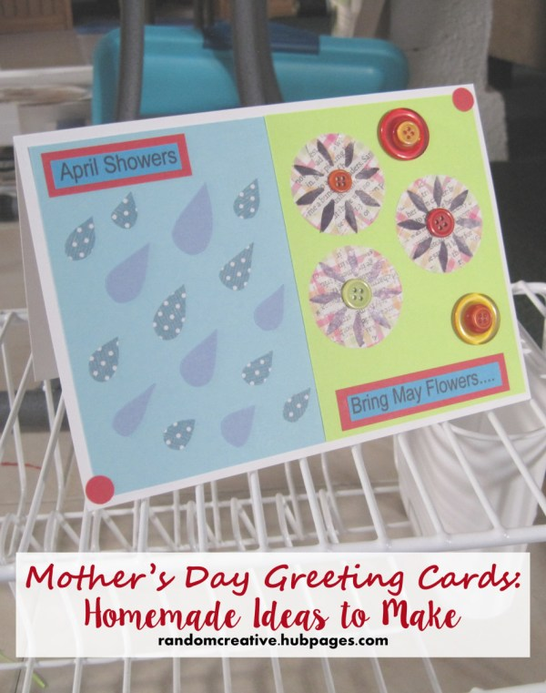 Mother's Day Greeting Cards: Homemade Ideas to Make ...