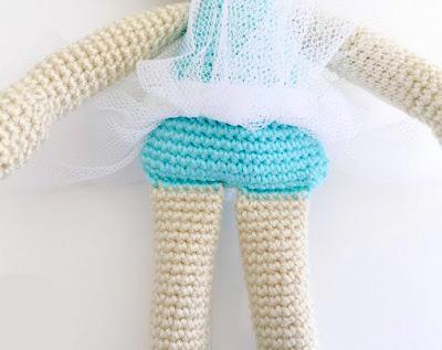 Crochet Amigurumi Ballerina Doll & Her Little Swan, Ballet ... | 317x400