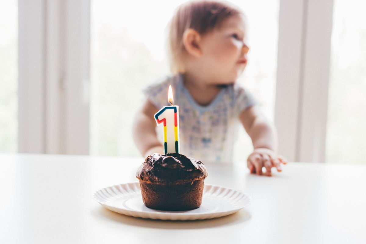 Baby Year Birthday 1 Wishes Girl Old
