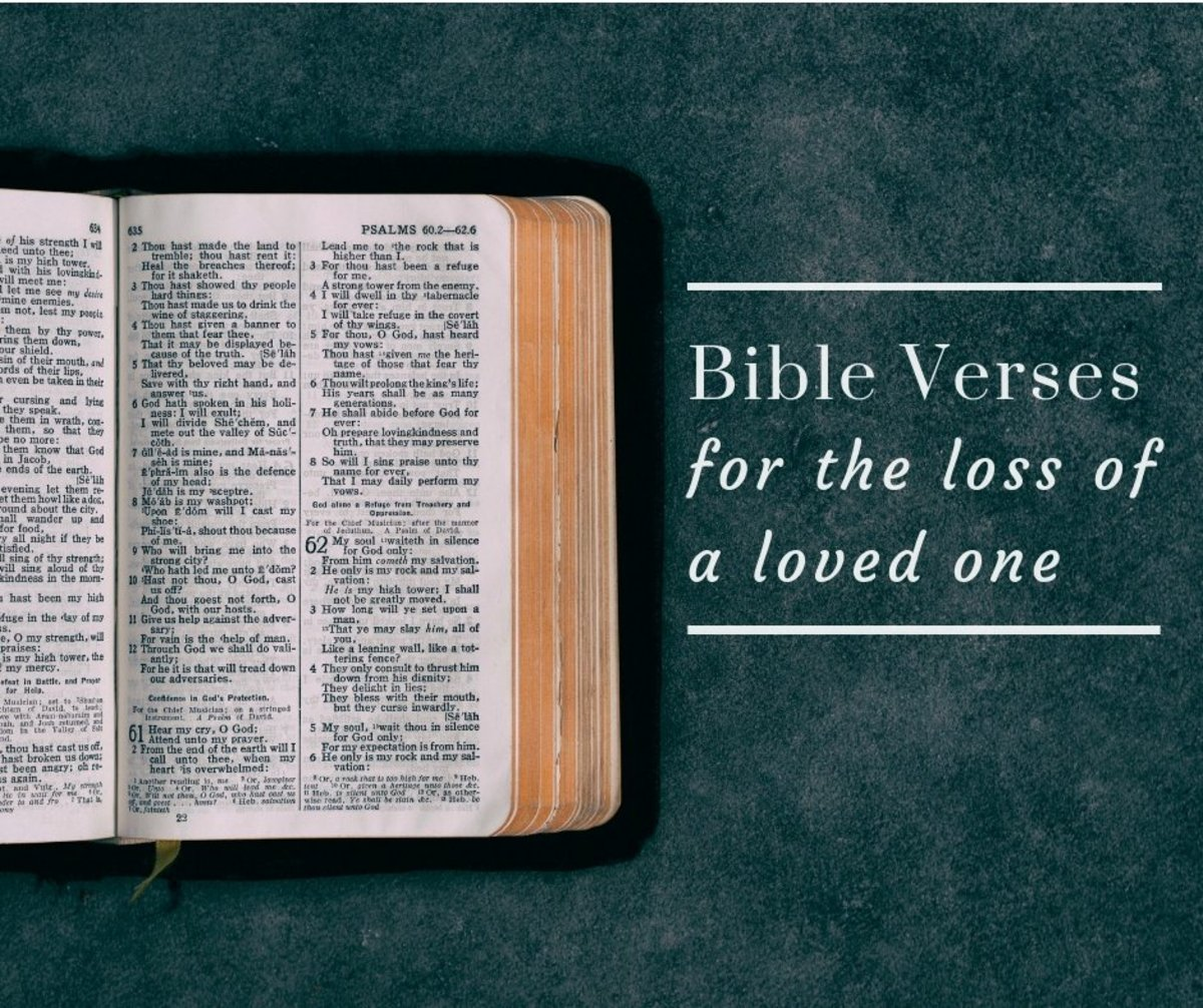 20 Bible Verses For Those Who Have Lost A Loved One Holidappy
