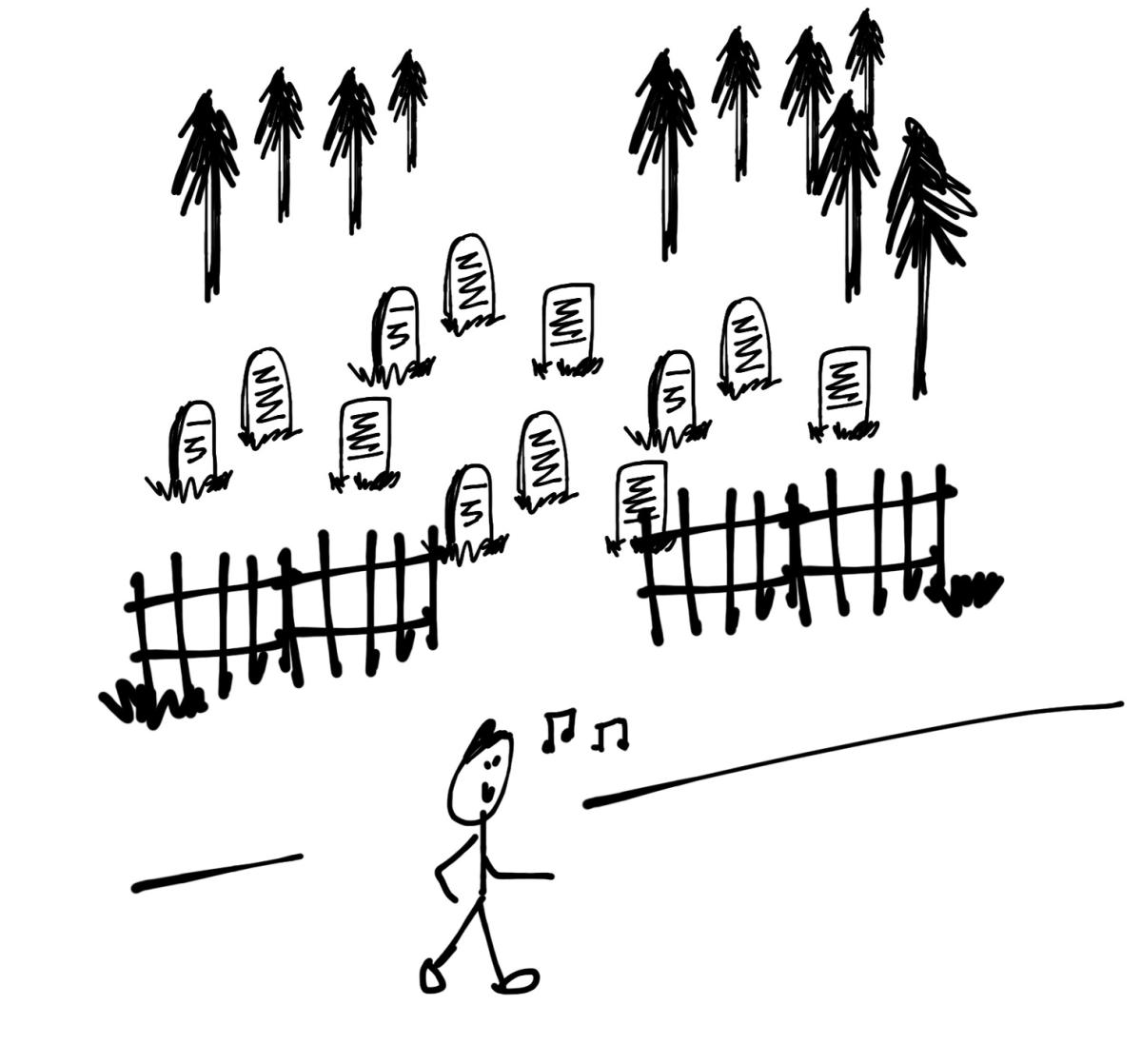 Original Short Fiction Graveyard Whistler S Fifth Flash