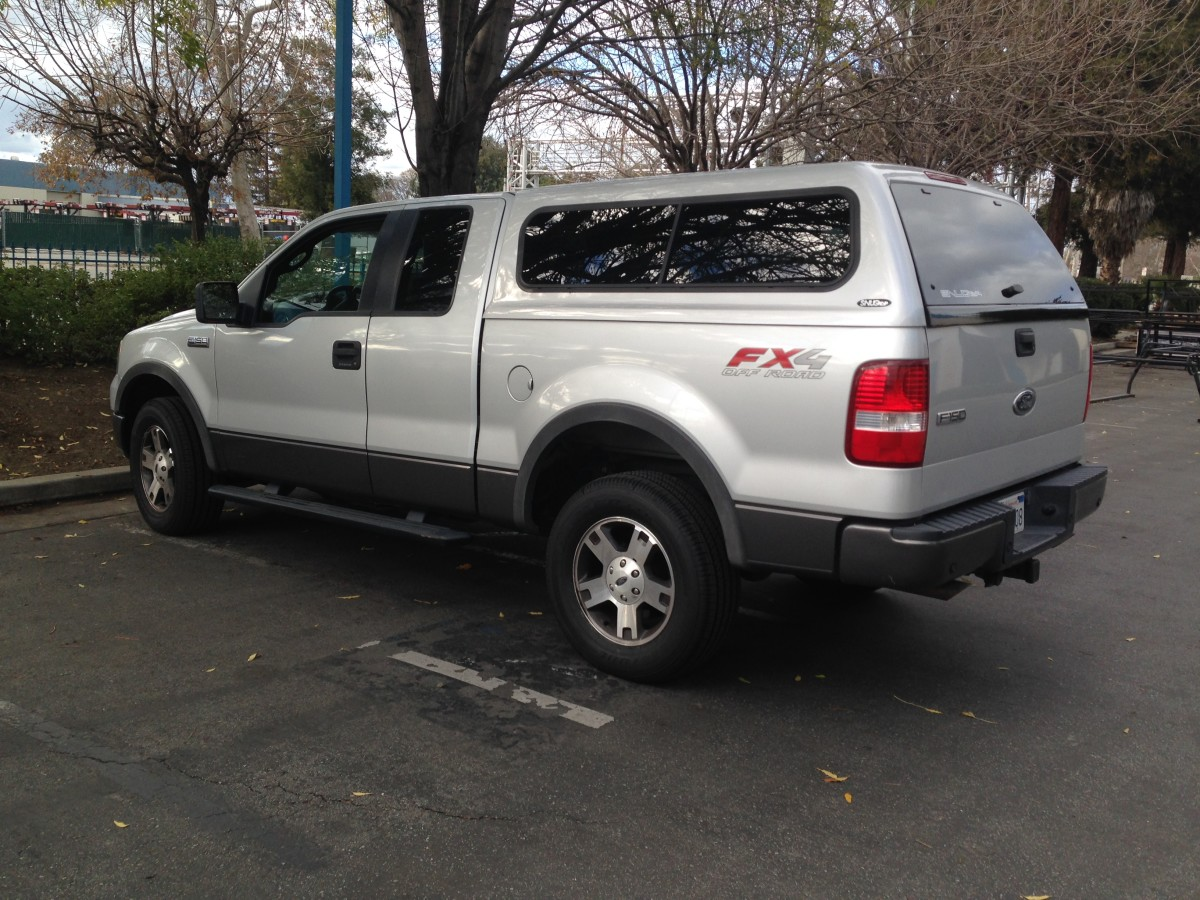 Different Types Of Camper Shells For Ford F150 With
