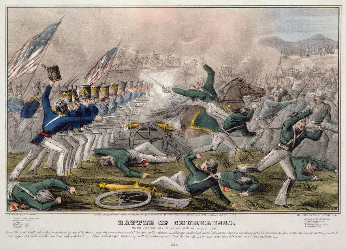 The Mexican American War A Fulfillment Of Manifest