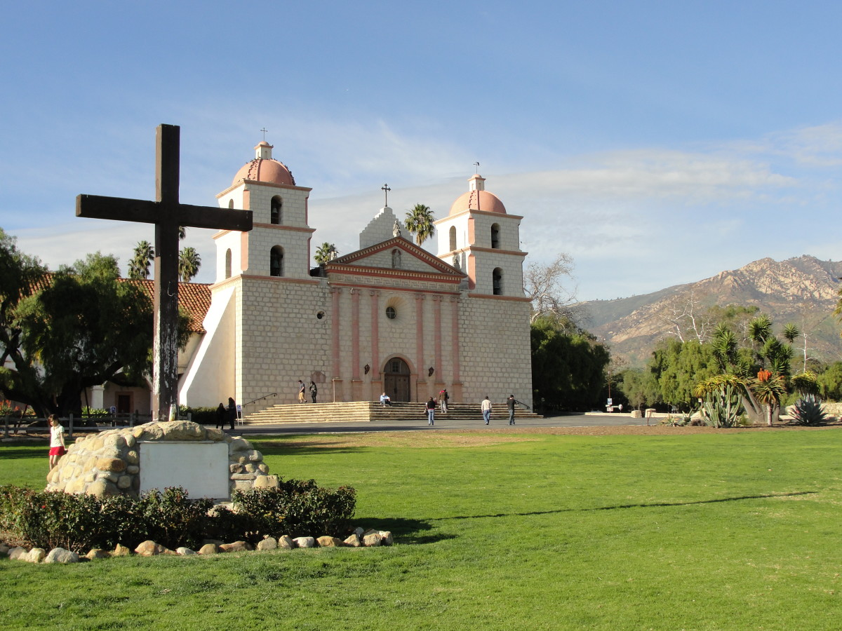 Missions Of California Old Mission Santa Barbara