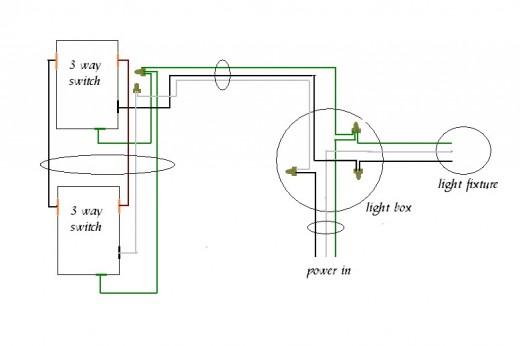 two way lighting circuit wiring diagram two image 2 way lighting circuit diagram the wiring diagram on two way lighting circuit wiring diagram