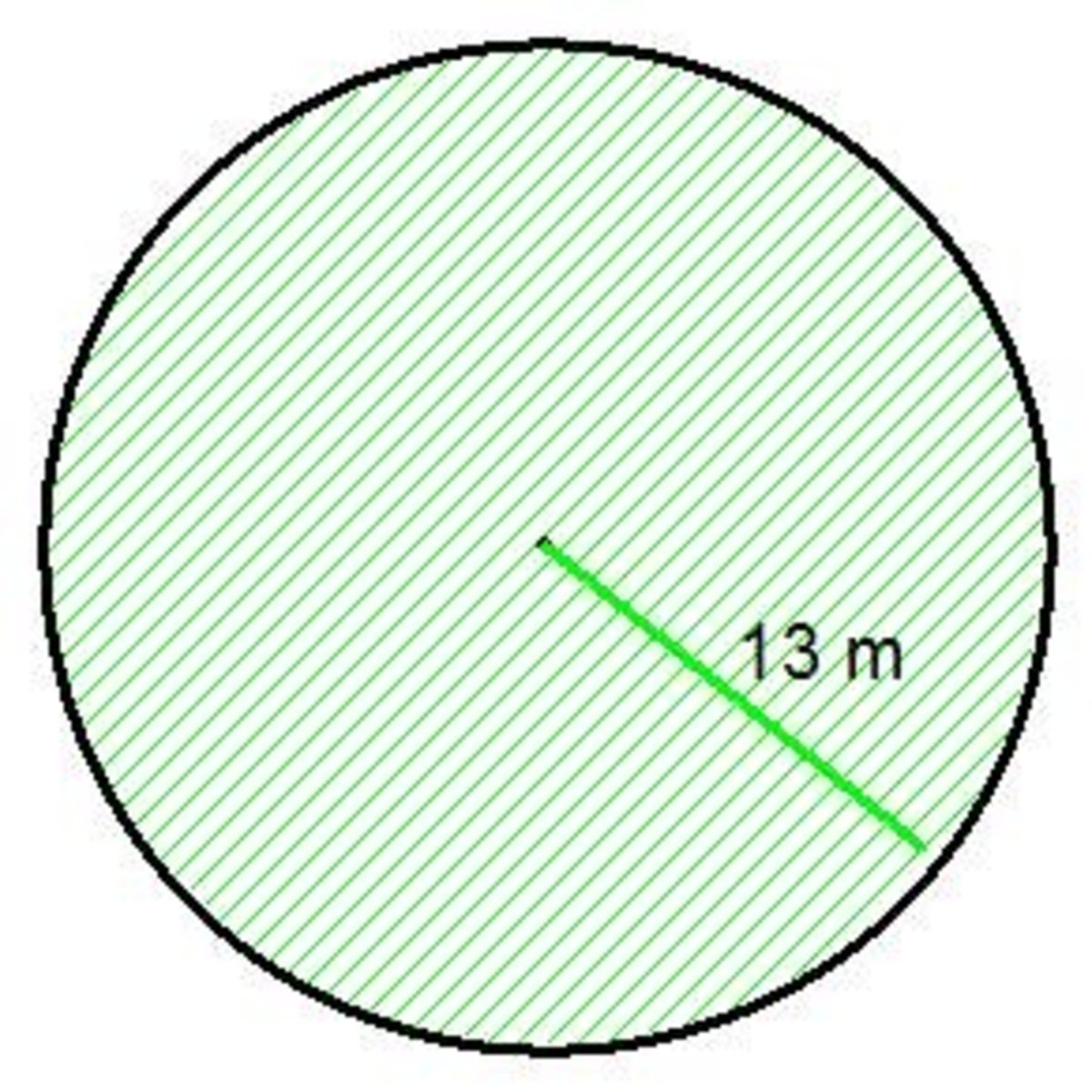 Math Help How To Calculate The Area Of Circle And Get An