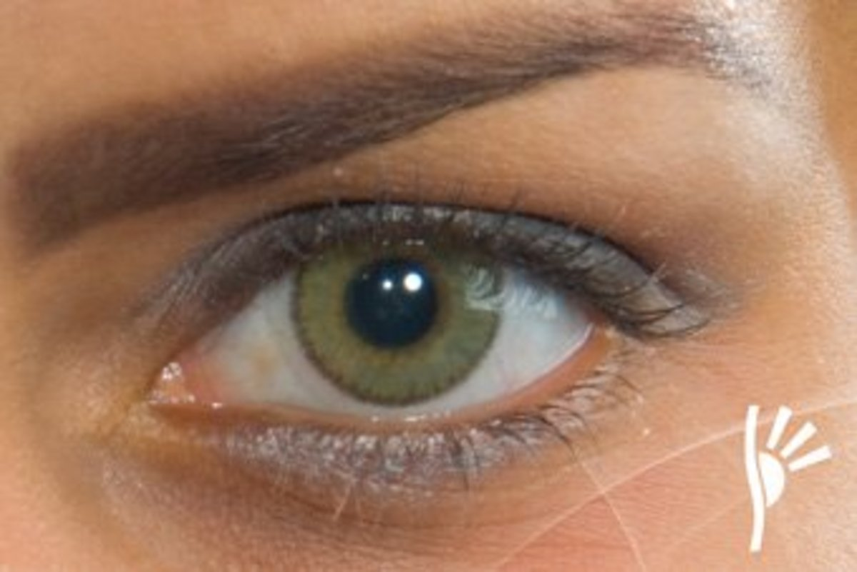 Green Contacts On Brown Eyes Bellatory