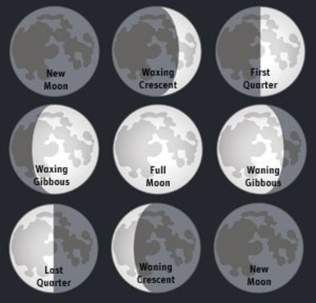 The Phases Of The Moon A Middle School Science Hands On