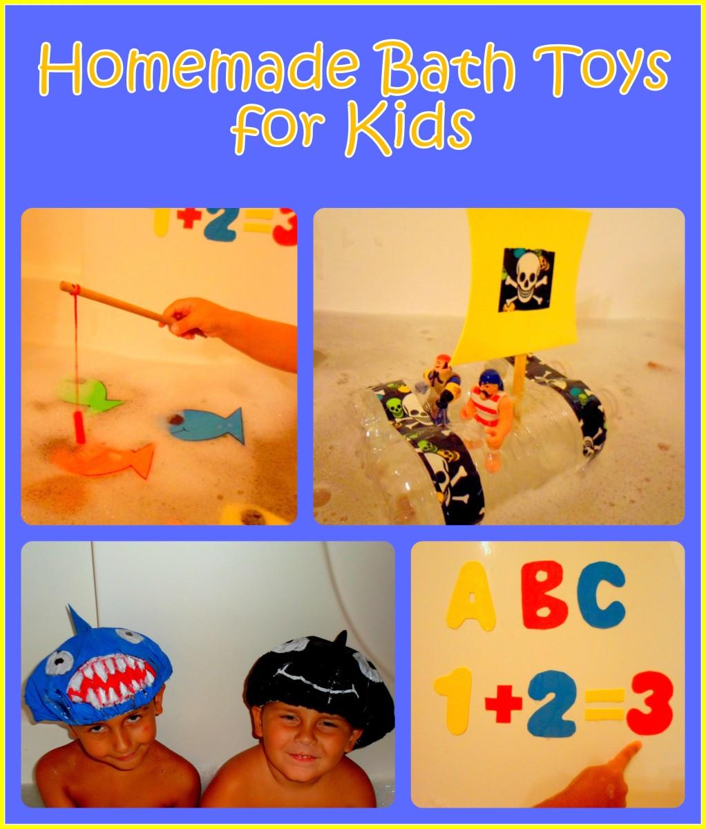 How To Make Homemade Bath Toys For Kids WeHaveKids