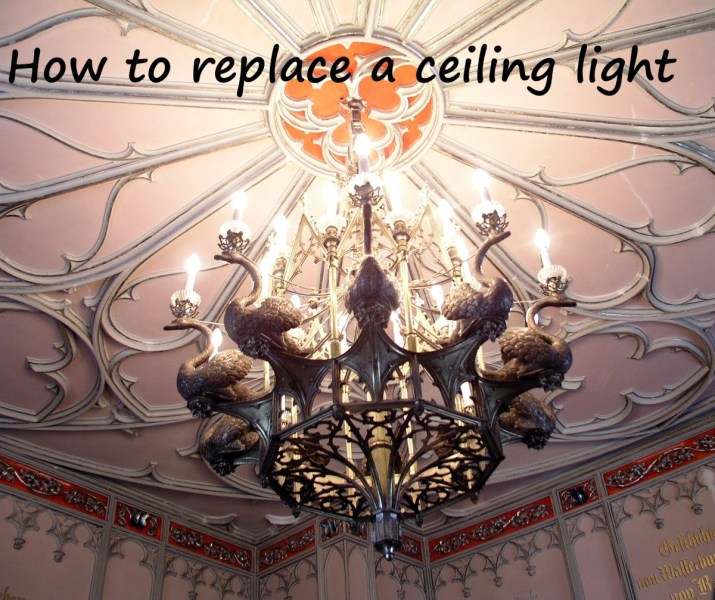 How to Replace a Ceiling Light Fixture   Dengarden It s doubtful you will installing one of these  but ordinary home lights  are easy to
