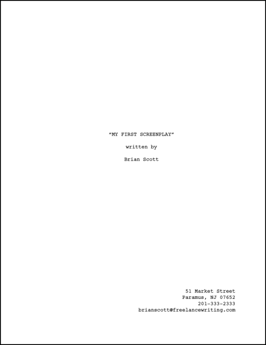 cover page term paper