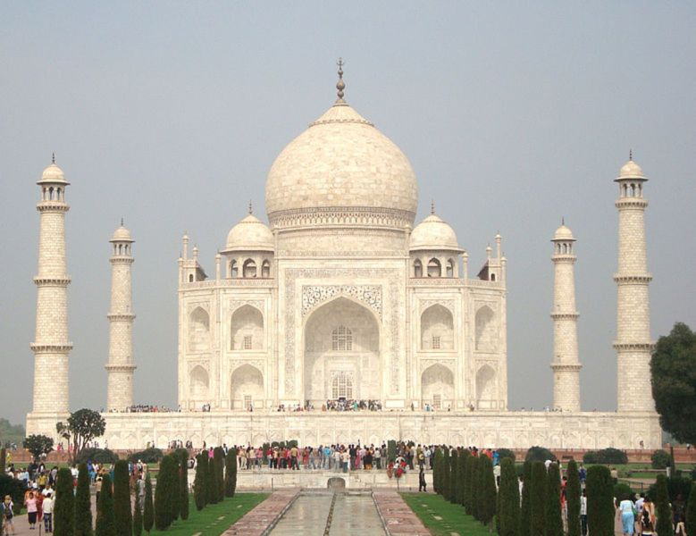 100 Must See Historical Places and Monuments in India   WanderWisdom The Taj Mahal  on the bank of the Yamuna River in Agra  was built