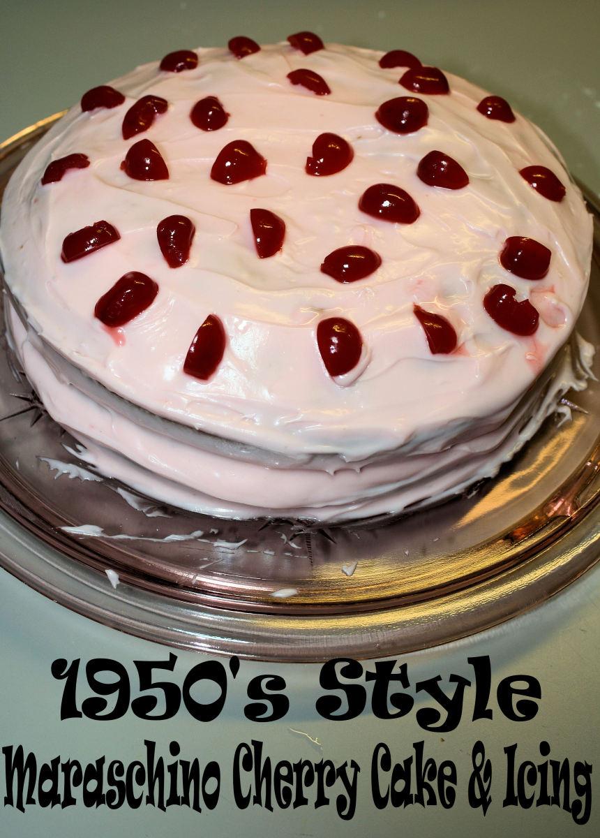 1950s Style Maraschino Cherry Cake Hubpages
