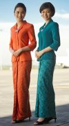 Top Asian Airlines Flight Attendant Uniforms - Glamourous ...